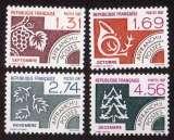 miniature France 1987 timbres préoblitérés  Y&T 194 à 197 ** mois de l'année  cote 7,00€