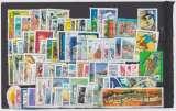 Lot de 80 timbres FRANCE oblitérés° ( 1991 à 2000)