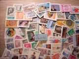 miniature MONDE : + de 50 grammes de timbres (+ de 160 au total)
