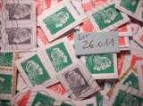 miniature FRANCE : Lot de + de 120 timbres MARIANNE L'ENGAGEE