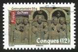 miniature France - 2010 - Y&T n° AA 466 - Obl. - Art roman - Conques (12)