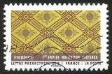 miniature France - 2011 - Y&T n° AA 523 - Obl. - Tissus du monde - France - 1er Empire - Motifs sur tissu