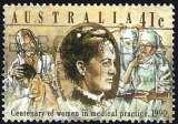 miniature Australie 1990 - Docteur Constance Stone ( Mi 1187 - YT 1145 )