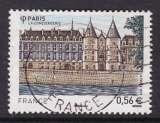TIMBRE OBLITERE DE FRANCE - LA CONCIERGERIE, A PARIS N° Y&T 4494