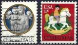 miniature Etats-Unis 1978 - Noël ( Mi 1368/69 - YT 1226/27 )