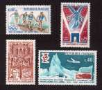 miniature France 1968 Y&T 1573 à 1576 **    cote 1,75€