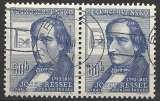 miniature Tchecoslovaquie 1957 Y&T 921 oblitéré - Josef Ressel