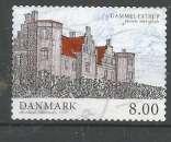 miniature Danemark 2011 - YT n° 1630 - Manoir - cote 2,00