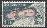 miniature Tchecoslovaquie P.A. 1963 Y&T 59 oblitéré - Vostok 5