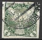 miniature Tchecoslovaquie Journaux 1919-20 Y&T 2 oblitéré (trace de charnière)