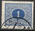 miniature Tchecoslovaquie Taxe 1928 Y&T 62 oblitéré