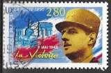miniature FRANCE 1995 -  8 mai 1945, La Victoire, Oblitéré
