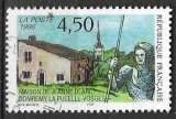 miniature FRANCE 1996 -  Maison de Jeanne d'Arc , Oblitéré