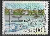 miniature FRANCE 1996 -  Accord Ramoge , Oblitéré