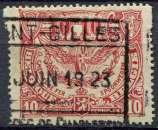 BELGIQUE 1920 oblitéré COLIS POSTAUX N° 100