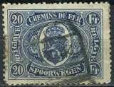 BELGIQUE 1922 oblitéré COLIS POSTAUX N° 134
