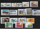 miniature PORGUGAL 1368 à 1372/1374/1376/1379/1383/1385/1489/1392/1393/1395/1398 à 1401 oblitérés rond