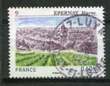 2012  FRANCE  EPERNAY LES VIGNOBLES OBLITERE