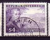 miniature Autriche 1987  Y&T  1729  oblitéré  (3)  musique  Haydn