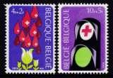 miniature PAIRE NEUVE DE BELGIQUE - CROIX-ROUGE DE BELGIQUE 1974 N° Y&T 1698/1699