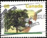 miniature Canada 1992 - Fruits : Poire ( Mi 1342A - YT 1295 )