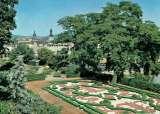 miniature SAARBRÜCKEN : Jardin du château