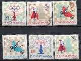 miniature Roumanie  N° 2193 à 2198 °  Echecs