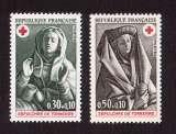 miniature France 1973  Y&T 1779 - 1780  ** croix rouge cote 1,30€