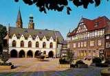miniature GOSLAR : Marktplatz mit Rathaus und Marktkirche