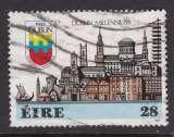 miniature TIMBRE OBLITERE D'IRLANDE - MILLENAIRE DE DUBLIN : BATIMENTS DE DIFFERENTES EPOQUES N° Y&T 645