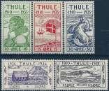 miniature Groenland - THULE - Y&T 1 à 5** - MNH