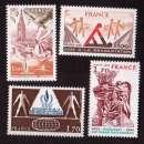 France 1978 Y&T  2019 - 2021 - 2023 - 2027  **    cote 3,30€