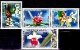 miniature Laos 233 / 35 + Pa 79 Fleurs / Orchidées