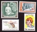 France 1979  Y&T 2036 à 2039 **  cote 3,20€