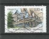 FRANCE 2014 - YT n° 4839 - Cathédrale Saint-Pierre de Moissac - cote 1,50