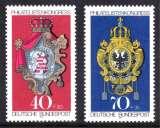 miniature ALLEMAGNE 1973 N° 614-615 * * Neufs. Réf. 14705