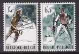 miniature PAIRE NEUVE DE BELGIQUE - RESISTANCE N° Y&T 1296/1297