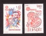 miniature France 1980 Y&T  2085 - 2086 ** Europa   cote 2,00€