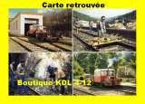 miniature G 125 3 - Draisine et la brigade de la voie - VILLEFORT - Lozère - SNCF