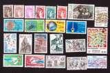 miniature France 1981  Y&T (o) lot de 23 timbres oblitérés tous différents PA 54 compris  cote 11,05€