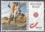 miniature Belgique 2011 COB 4182 O Cote (2016) 1.30 Euro Vélo tout terrain Cachet rond