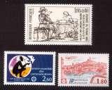 miniature France 1983 Y&T 2258 - 2260 - 2273 **  journée du timbre, communications, Marseille cote 3,50€