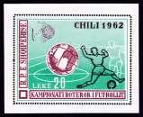BLOC NEUF D´ALBANIE - COUPE DU MONDE DE FOOTBALL AU CHILI N° Y&T BF 6C