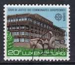 miniature TIMBRE OBLITERE DU LUXEMBOURG - EUROPA 1987 : COUR DE JUSTICE DES COMMUNAUTES EUROP. N° Y&T 1125