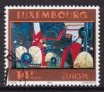 miniature TIMBRE OBLITERE DU LUXEMBOURG - EUROPA 1993 :