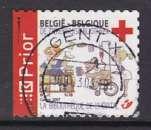 miniature TIMBRE OBLITERE DE BELGIQUE - CROIX-ROUGE 2007 : DESSIN HUMORISTIQUE N° Y&T 3607