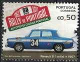 miniature Portugal 2017 Oblitéré Used Rally du Portugal Rallye voiture Renault 8 Gordini SU