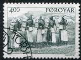 miniature FEROE    _ Y & T  :   N°   282  (o)   -   Cote  :   2,25  €