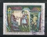 miniature 1969 FRANCE FRESQUE DE L'ABBAYE DE ST SAVIN  OBLITERE
