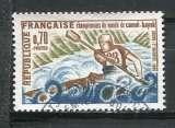 miniature 1969 FRANCE CHAMPIONNAT DU MONDE CE CANOE KAYAK  OBLITERE